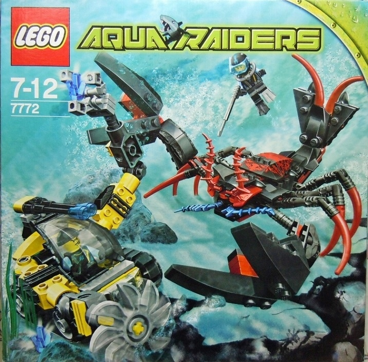 2007 Aqua Raiders 7772 Lobster Strike 龍蝦怪的襲擊