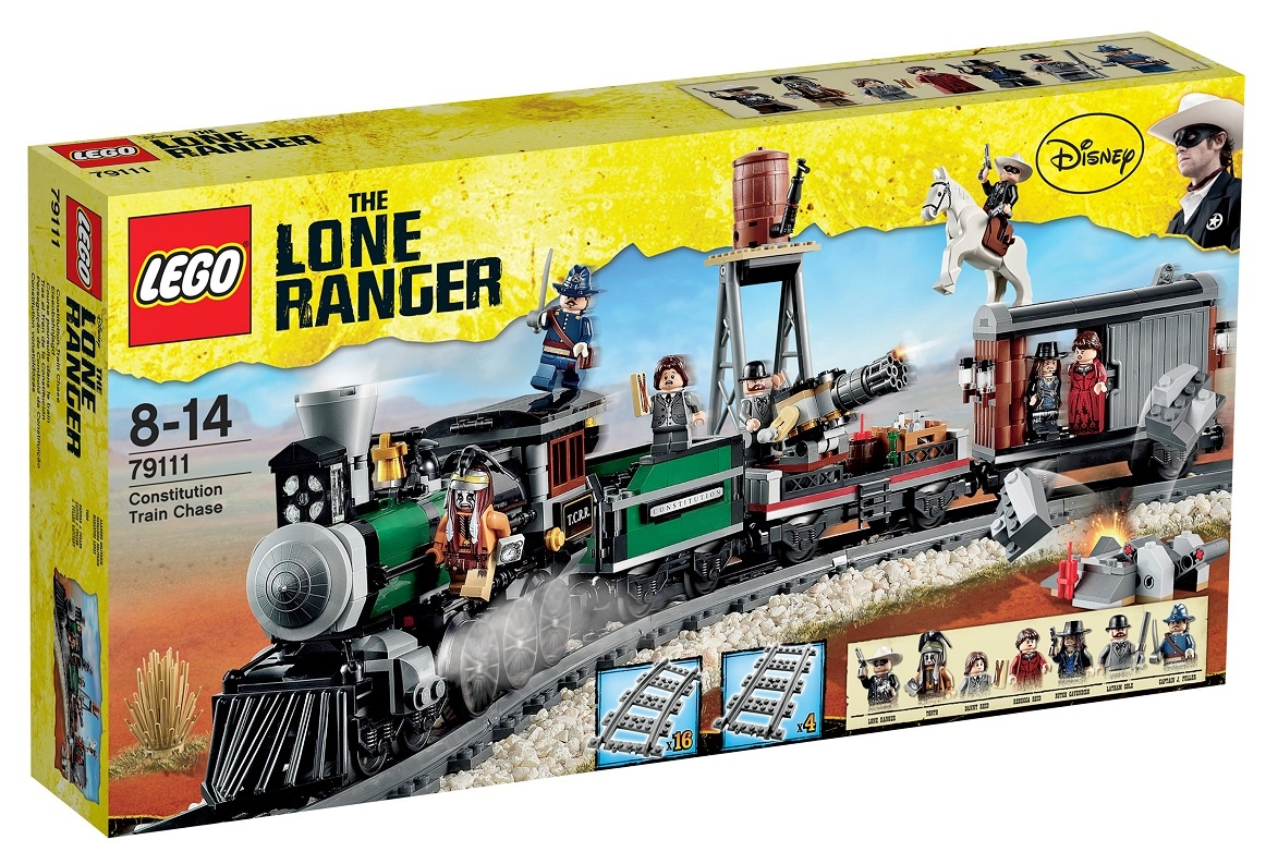 2013 Lone Ranger 79111 Constitution Train Chase 憲法火車追逐戰