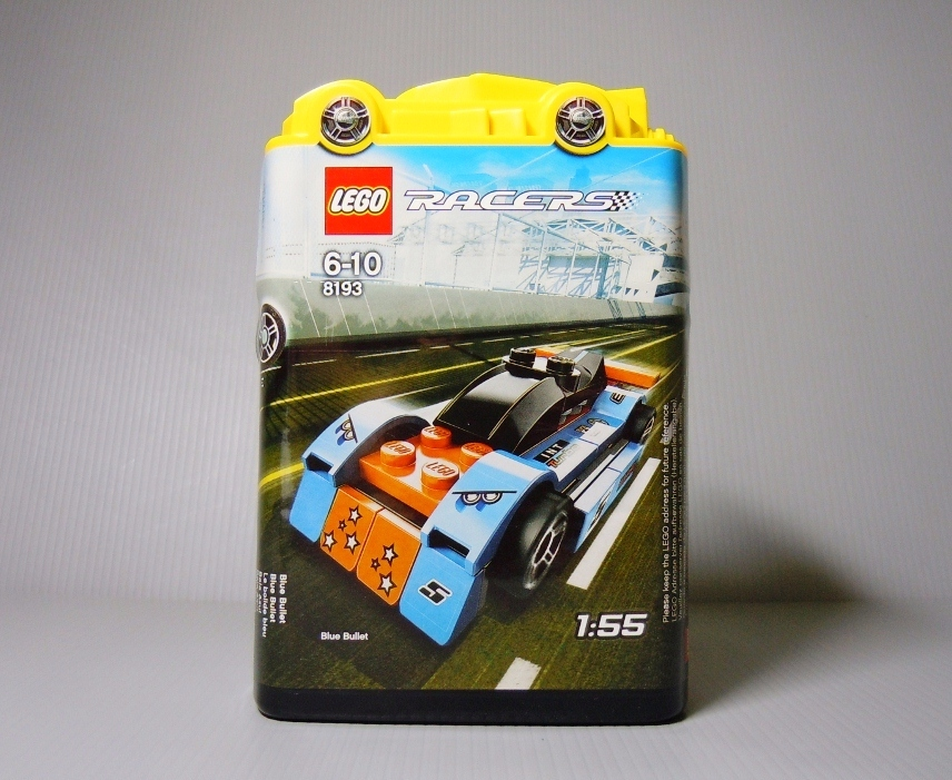 2010 Racers 8193 Blue Bullet 閃藍砲彈