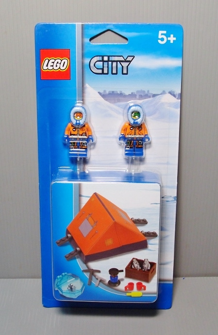 2014 City - Arctic 850932 Polar Accessory Set 極地帳篷組