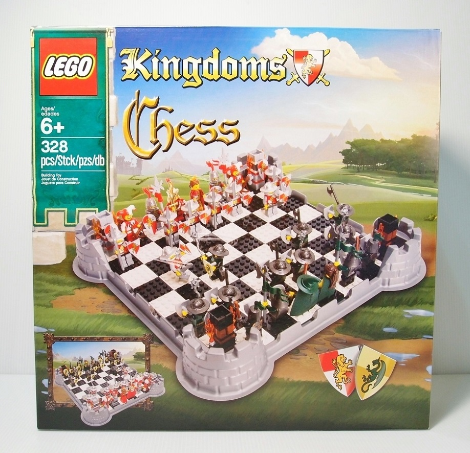 2012 853373 LEGO Kingdoms Chess Set 城堡西洋棋