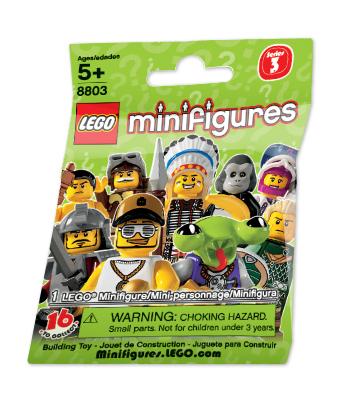 2011 8803 Minifigures Series 3 人偶抽抽包 第三代