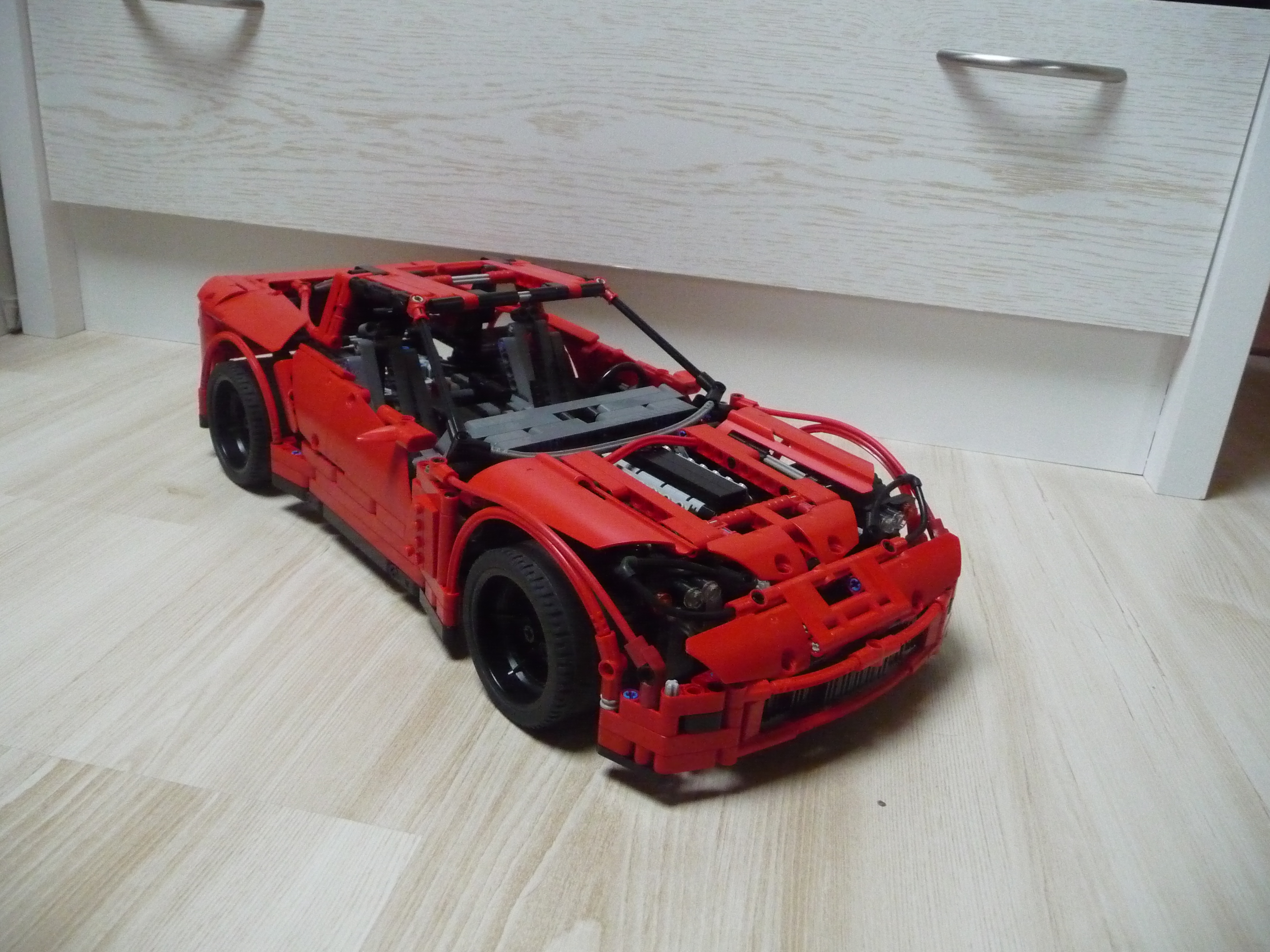 chevrolet corvette z06 by grego18f technic gears. Black Bedroom Furniture Sets. Home Design Ideas