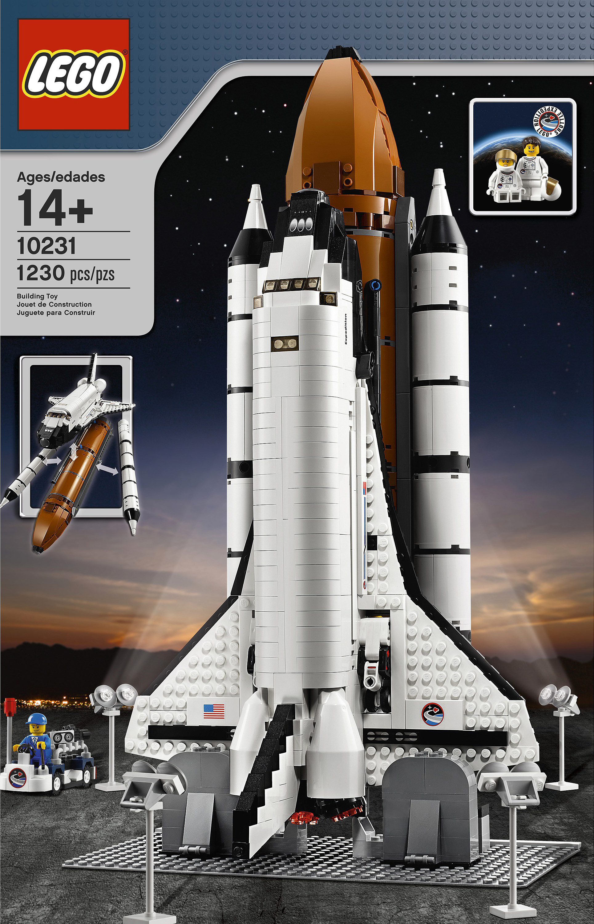 brickshelf gallery lego 10231 shuttle expedition high. Black Bedroom Furniture Sets. Home Design Ideas