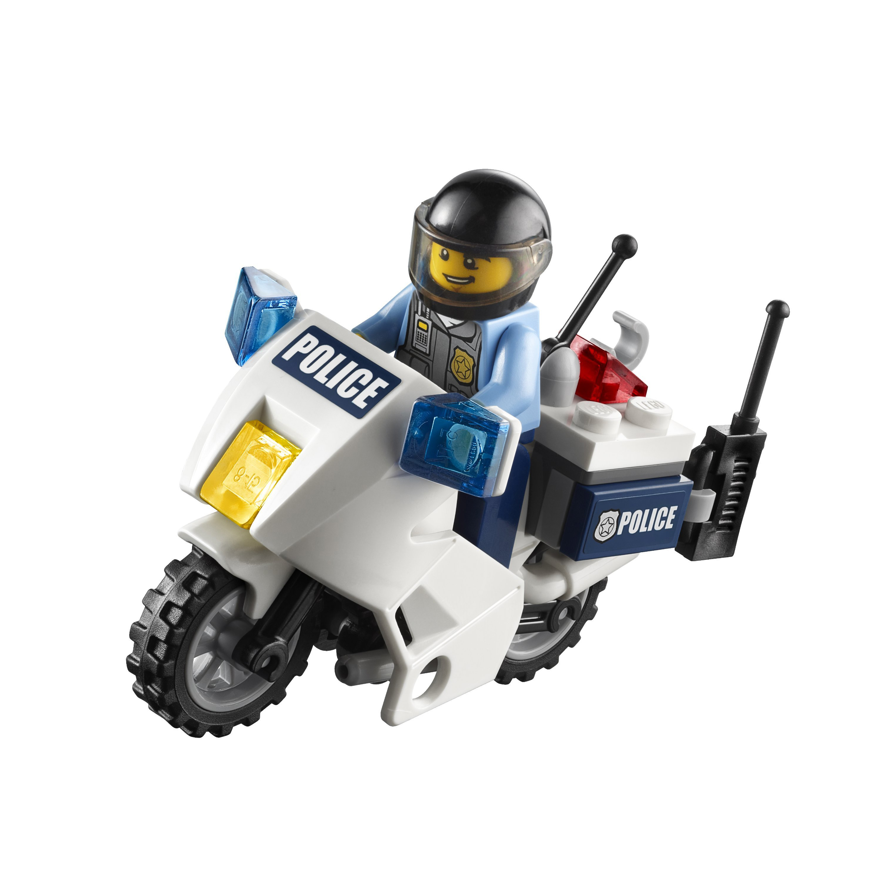 Details about LEGO CITY 60007 High Speed Chase Police Motorcycle Chase ...