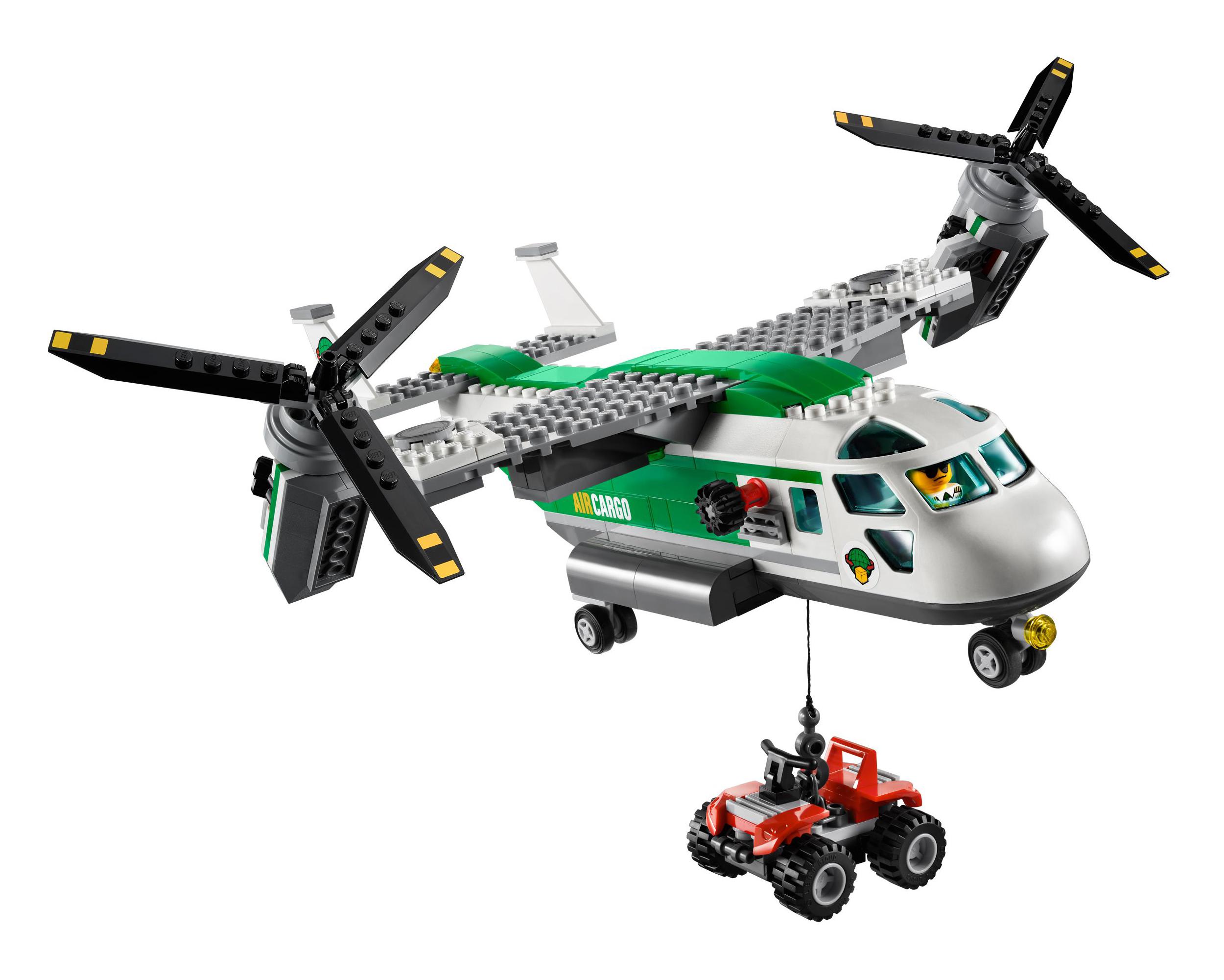 LEGO 60021 CITY Cargo Heliplane AIRPORT / Pieces 393 New ...