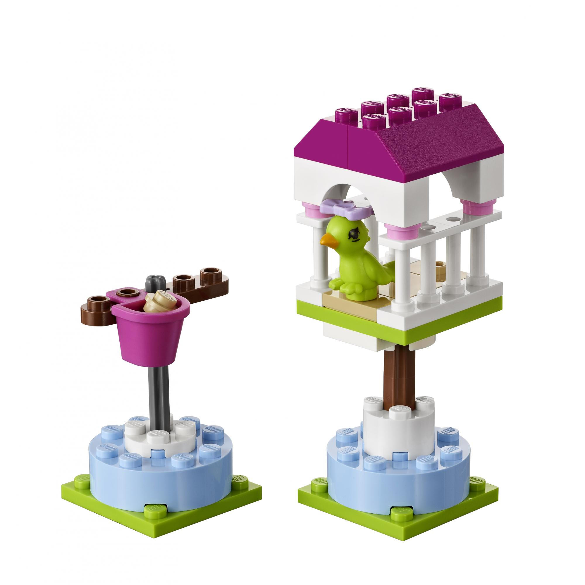 lego friends dog house instructions