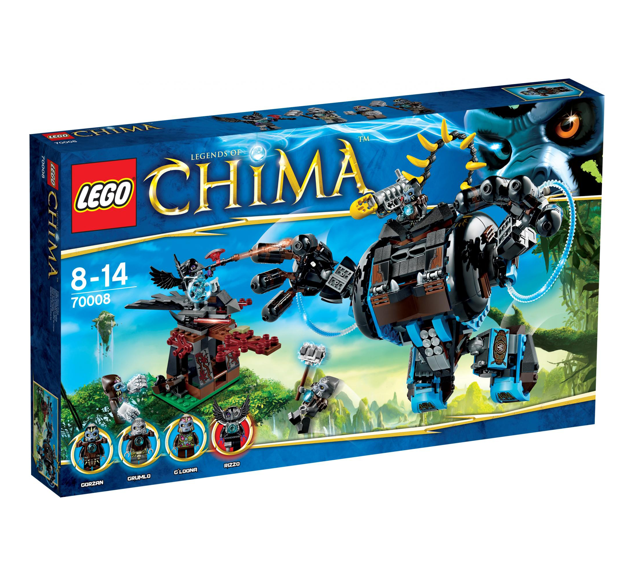 Legends of chima 2013 lego action and adventure themes - Chima saison 2 ...