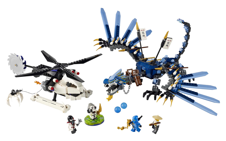 Lego Ninjago Lightning Dragon Con Lego Ninjago Lightning