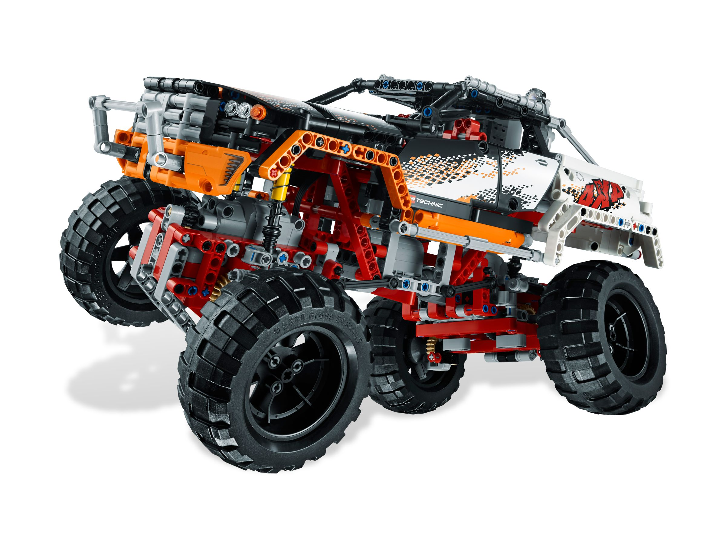 brickshelf gallery lego technic 9398 4x4 crawler. Black Bedroom Furniture Sets. Home Design Ideas