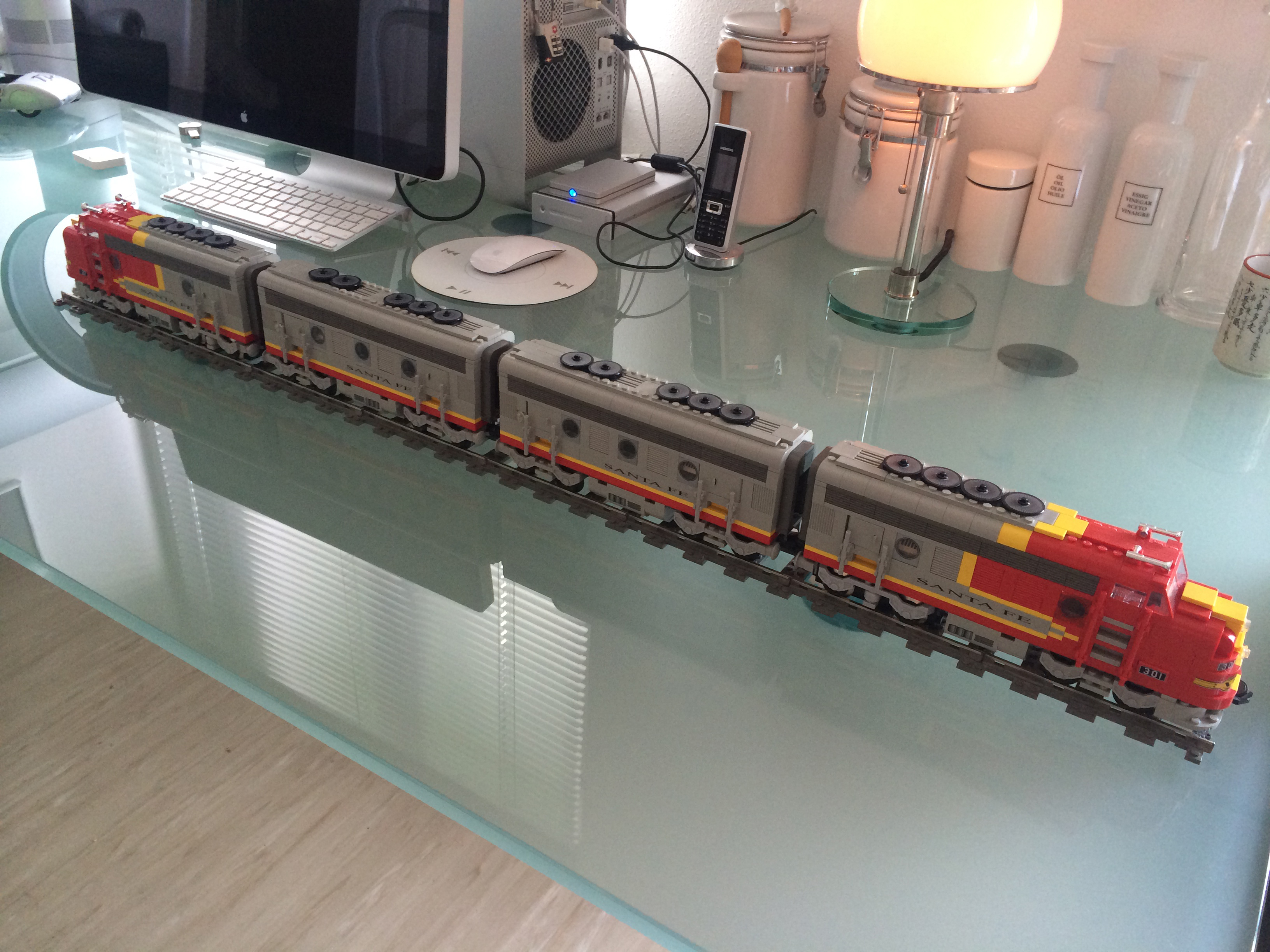 Question For Trainspotters Re The Santa Fe Super Chief Lego Train