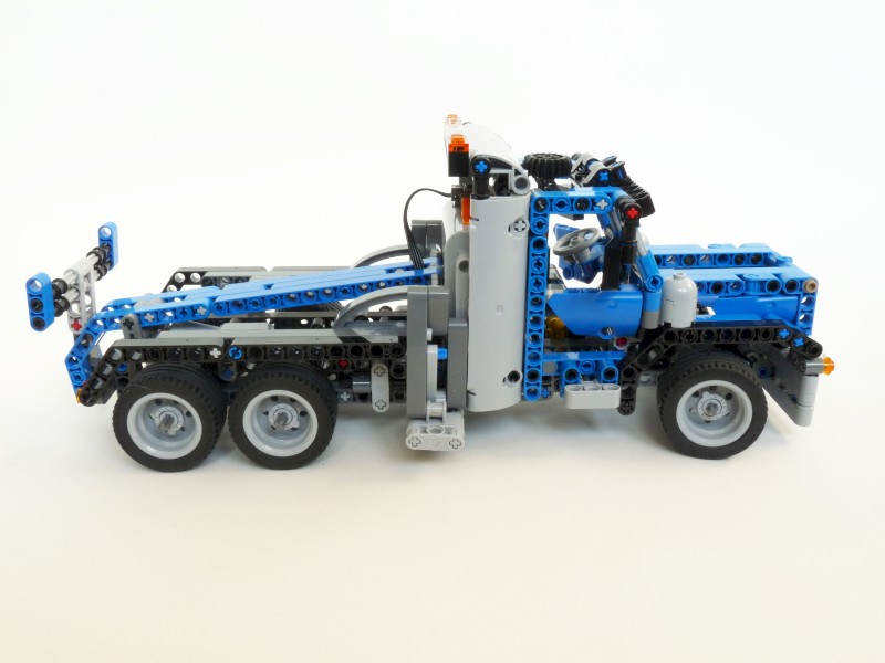 lego bin lorry instructions