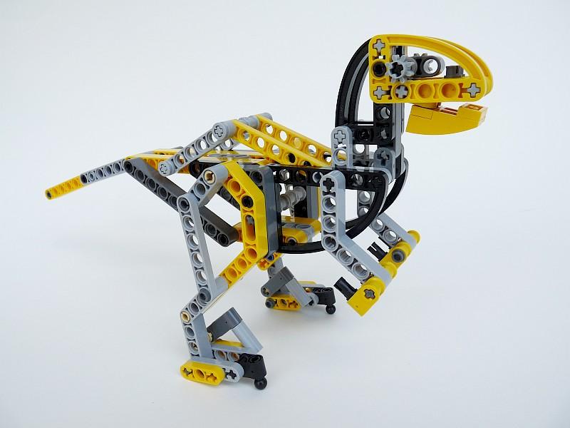 Lego Technic Bobcat >> customization - A custom LEGO velociraptor - Bricks