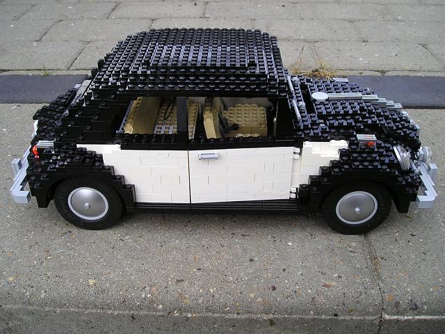 Mod 10187 Volkswagen Beetle Convertible Special Lego