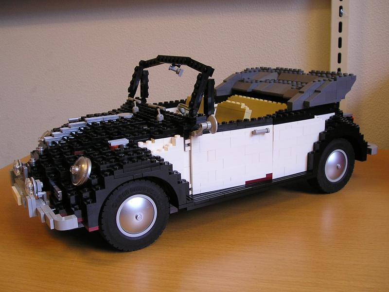 Mod 10187 Volkswagen Beetle Convertible Special Lego Themes