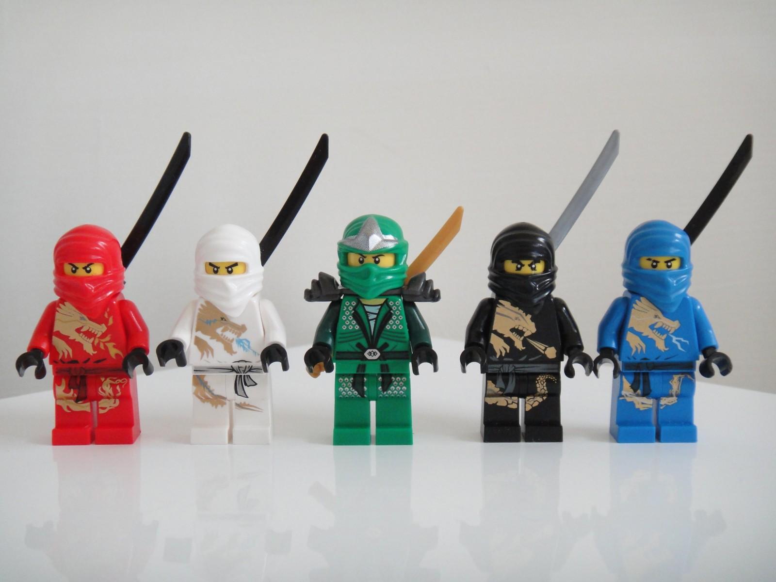 Ninjago冰龍、地龍、火龍、雷電龍與四頭龍[gdER版]