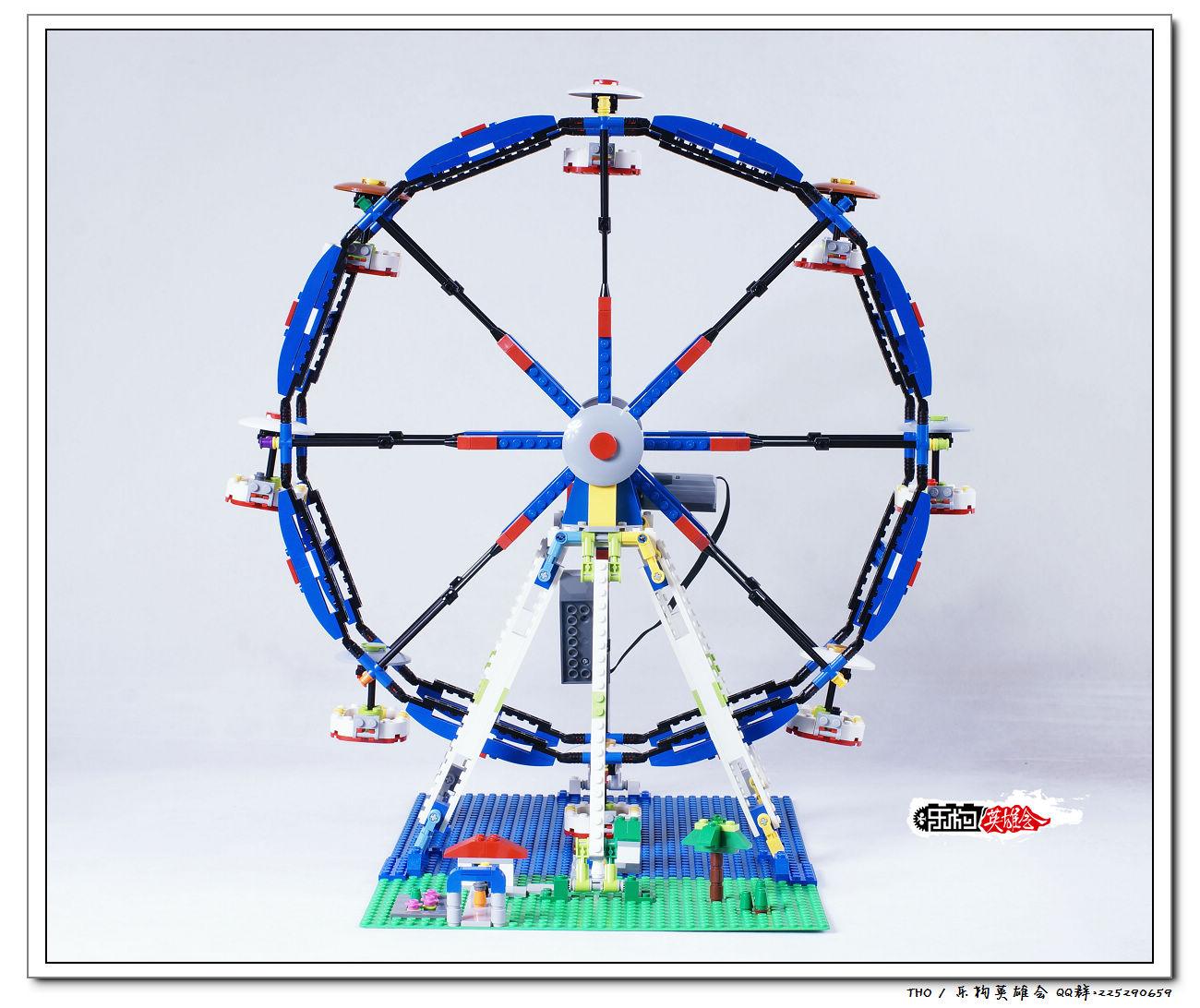接下来看看这个乐高最大的摩天轮set吧