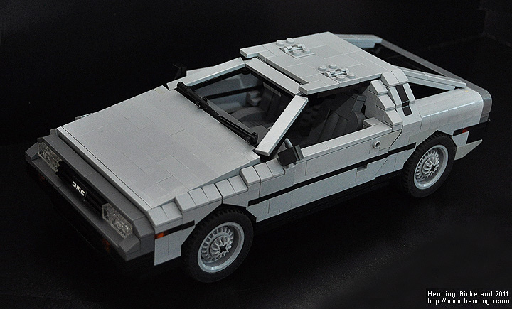 back to the future lego instructions