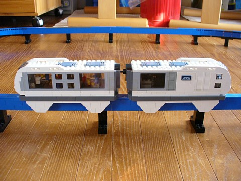 hidaka's Brick Built Monorail