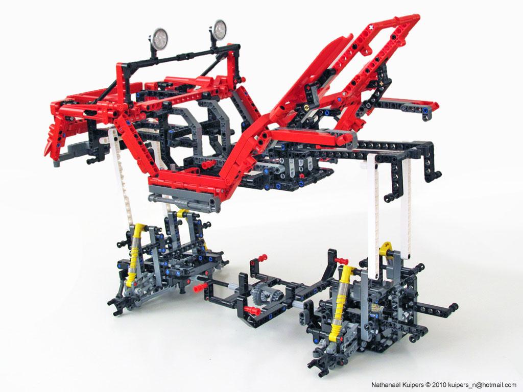Technicbricks The Modular Concept Car From Nk Evolves Into A