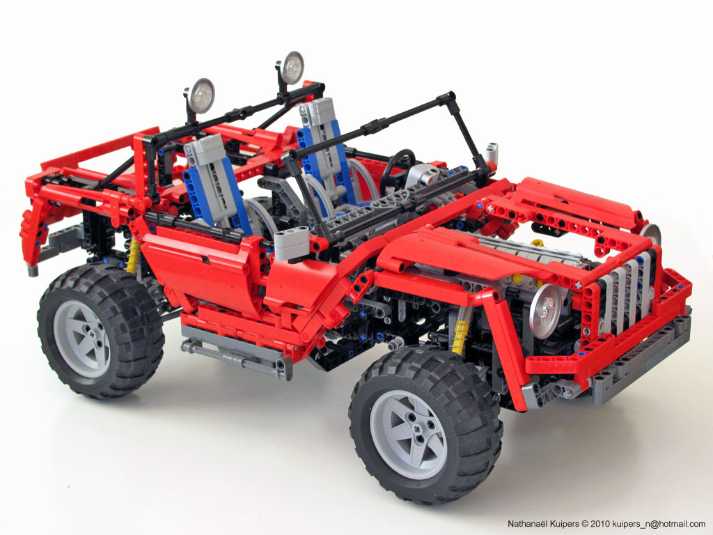 nathana l kuipers 39 s concept car page 2 lego technic. Black Bedroom Furniture Sets. Home Design Ideas