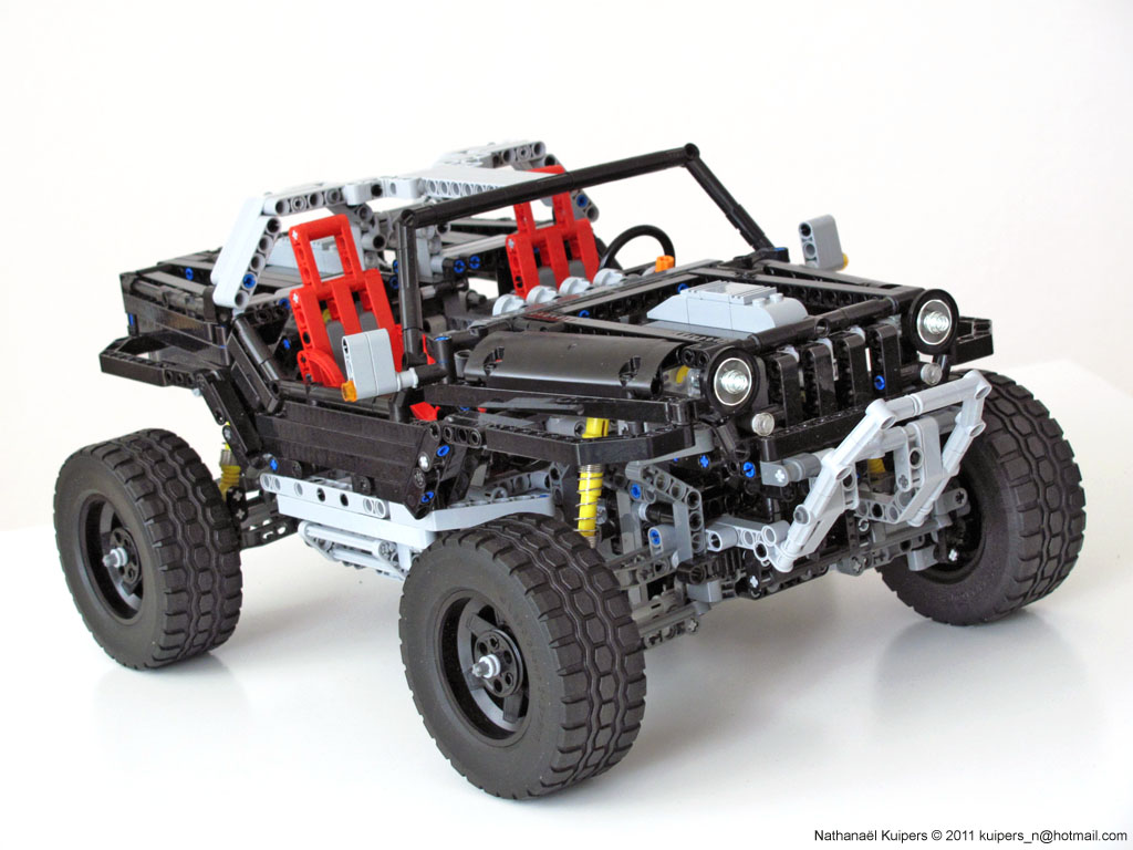 nathanael kuiper 39 s jeep hurricane lego technic and model. Black Bedroom Furniture Sets. Home Design Ideas