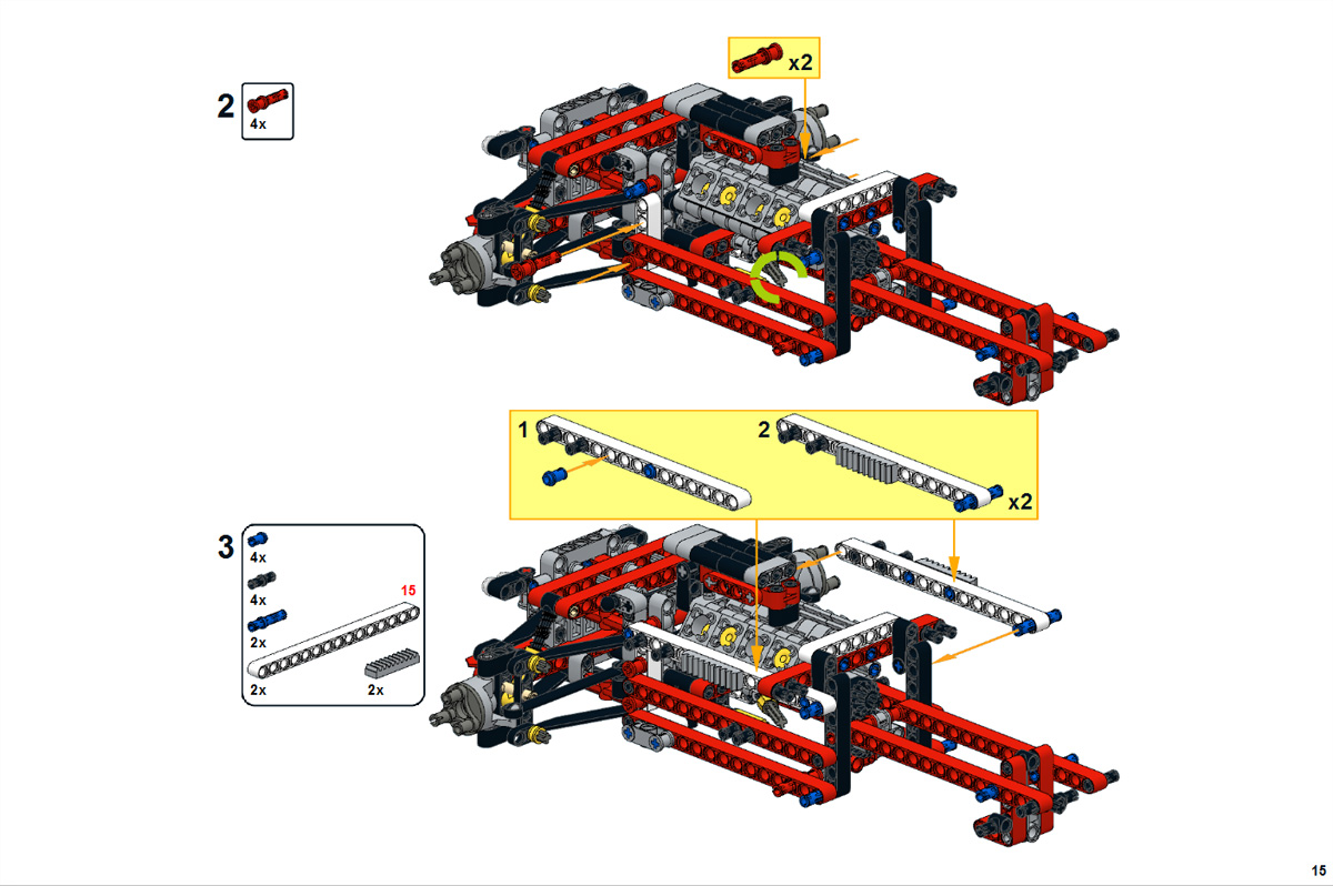 Technicbricks Building Instructions For Nathanal Kuipers 42000 C