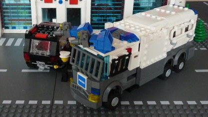 lego polizei bus