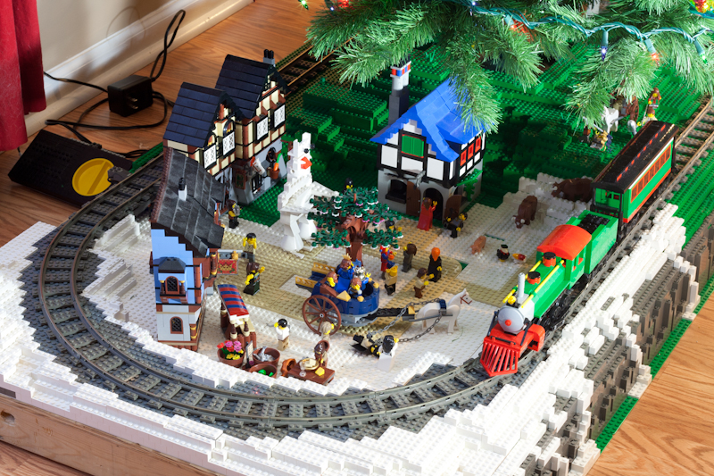 Train Set For Under Christmas Tree