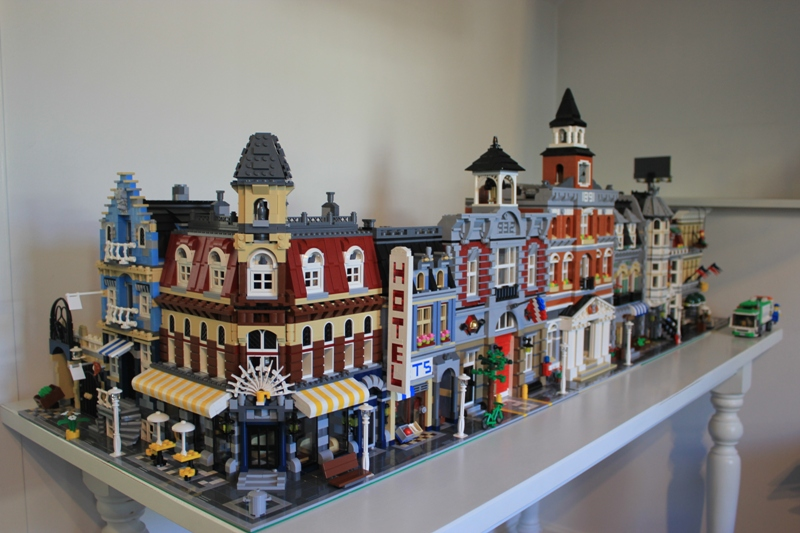 Building Modular modular buildings together - lego town - eurobricks forums