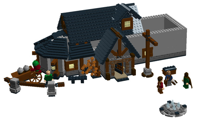 Diablo 3 MOC - LEGO Historic Themes - Eurobricks Forums