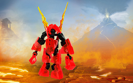 lego bionicle tahu master of fire instructions