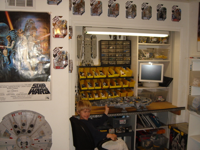 Some Pics Of My Star Wars Lego Room