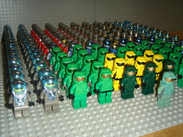 my lego halo spartan army lego sci fi eurobricks forums