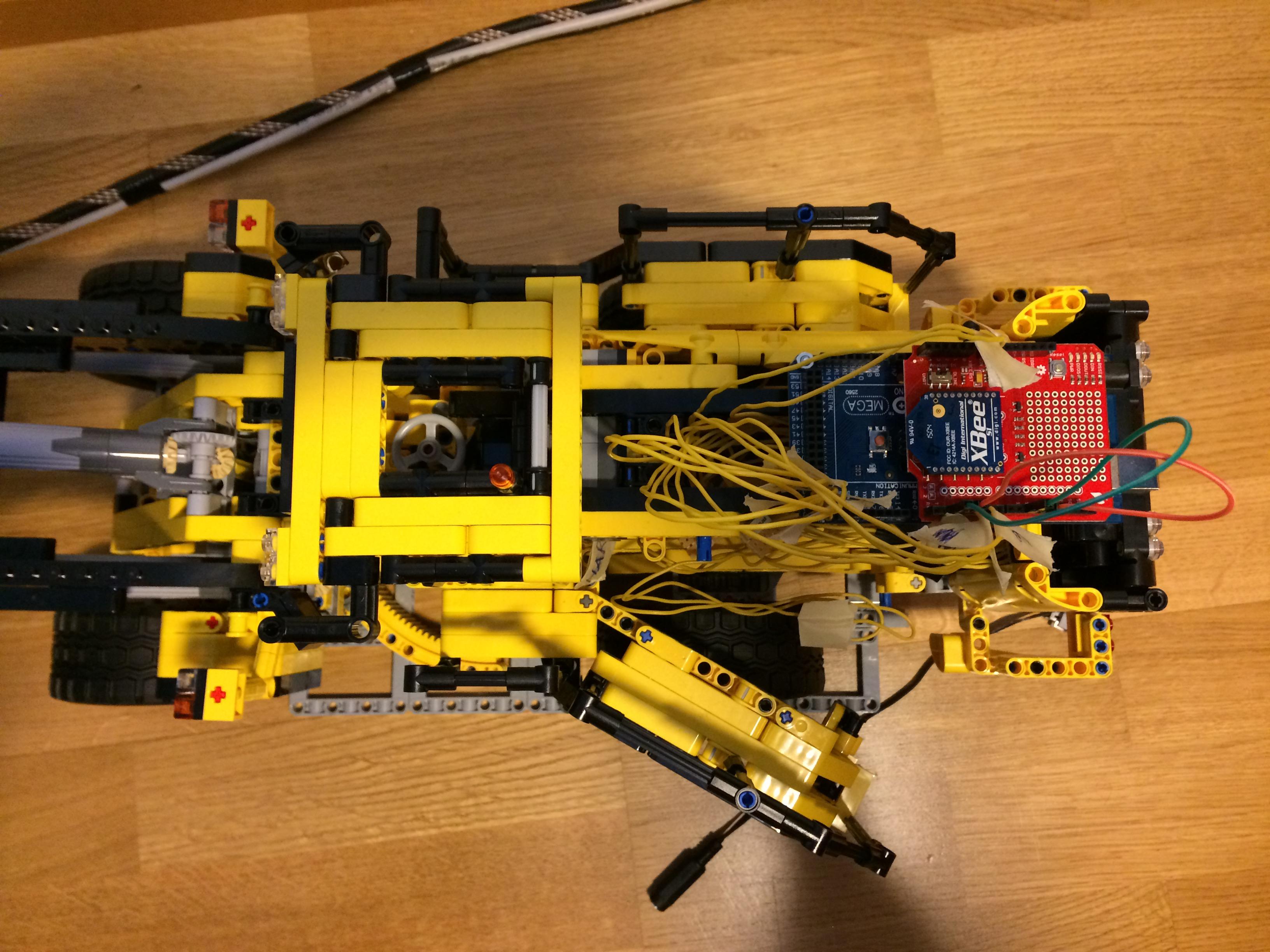 Technic lego arduino xbee
