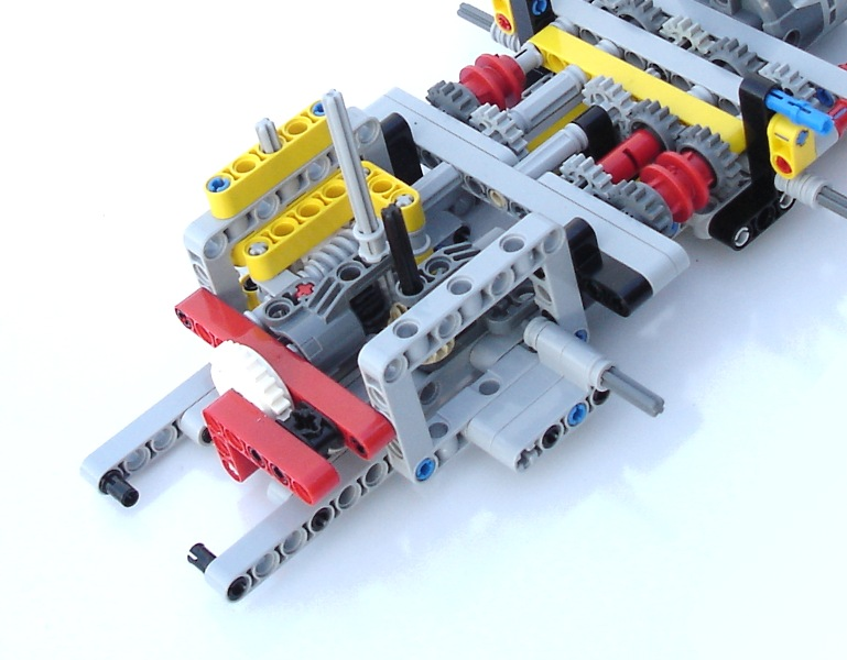 review 8258 b model lego technic mindstorms model. Black Bedroom Furniture Sets. Home Design Ideas