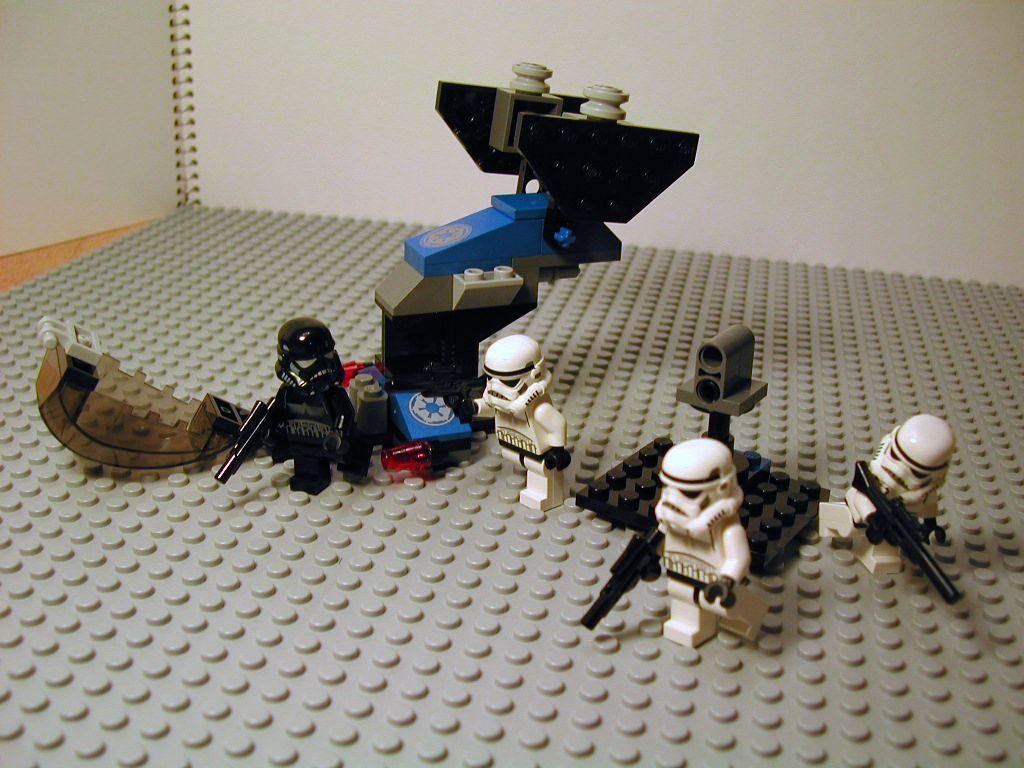 2008 星戰系列 7667 帝國 (風暴兵)登陸艇