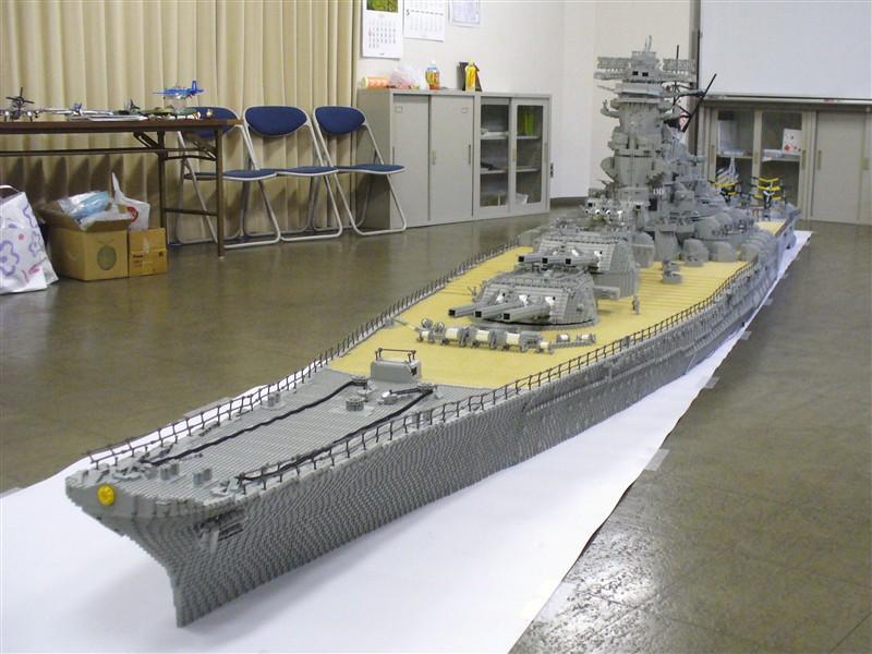 Foot Long Lego USS Missouri AnandTech Forums - Biggest lego ship