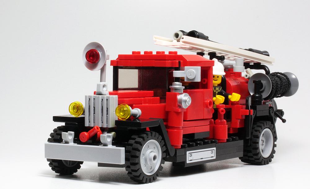 Пожарная машина своими руками схемы