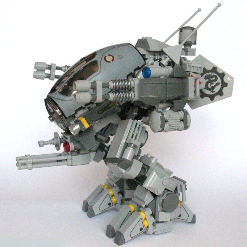Light Scout Mech Mk8 LEGO Sci Fi Eurobricks Forums