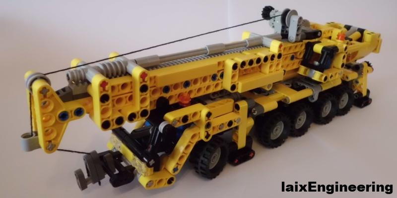 Lego Technic Mini Mobile Crane Moc Lego Technic And Model Team