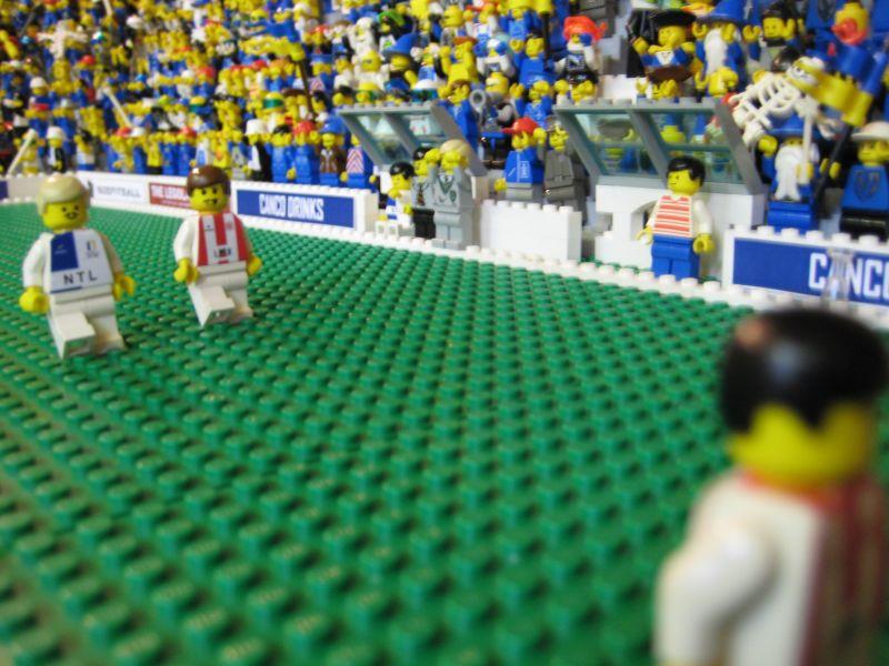 Legoland City's football giants clash - LEGO Town - Eurobricks Forums