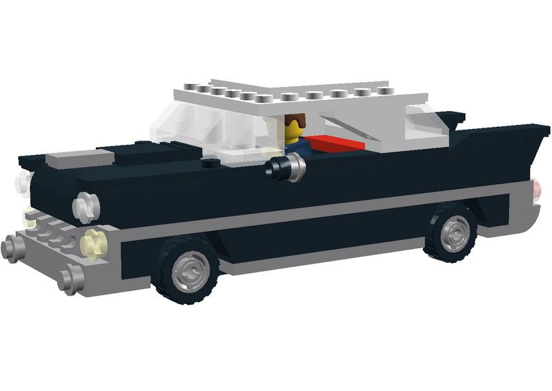 LDD classic cars (by SalvoBrick) - LEGO Town - Eurobricks Forums