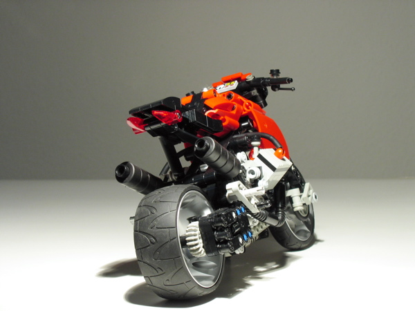 lego technic motorcycles december 2012. Black Bedroom Furniture Sets. Home Design Ideas