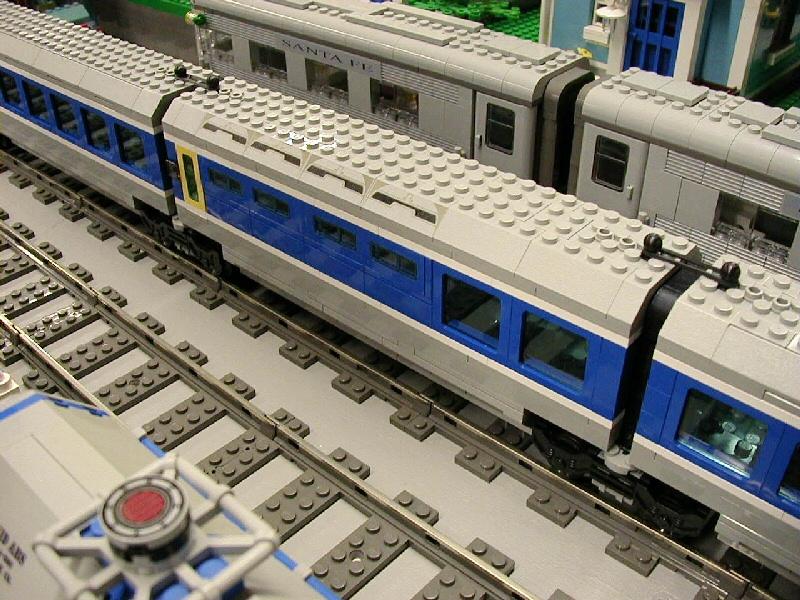 Tgv Train Grande Vitesse A Lego Creation By David Vinzant