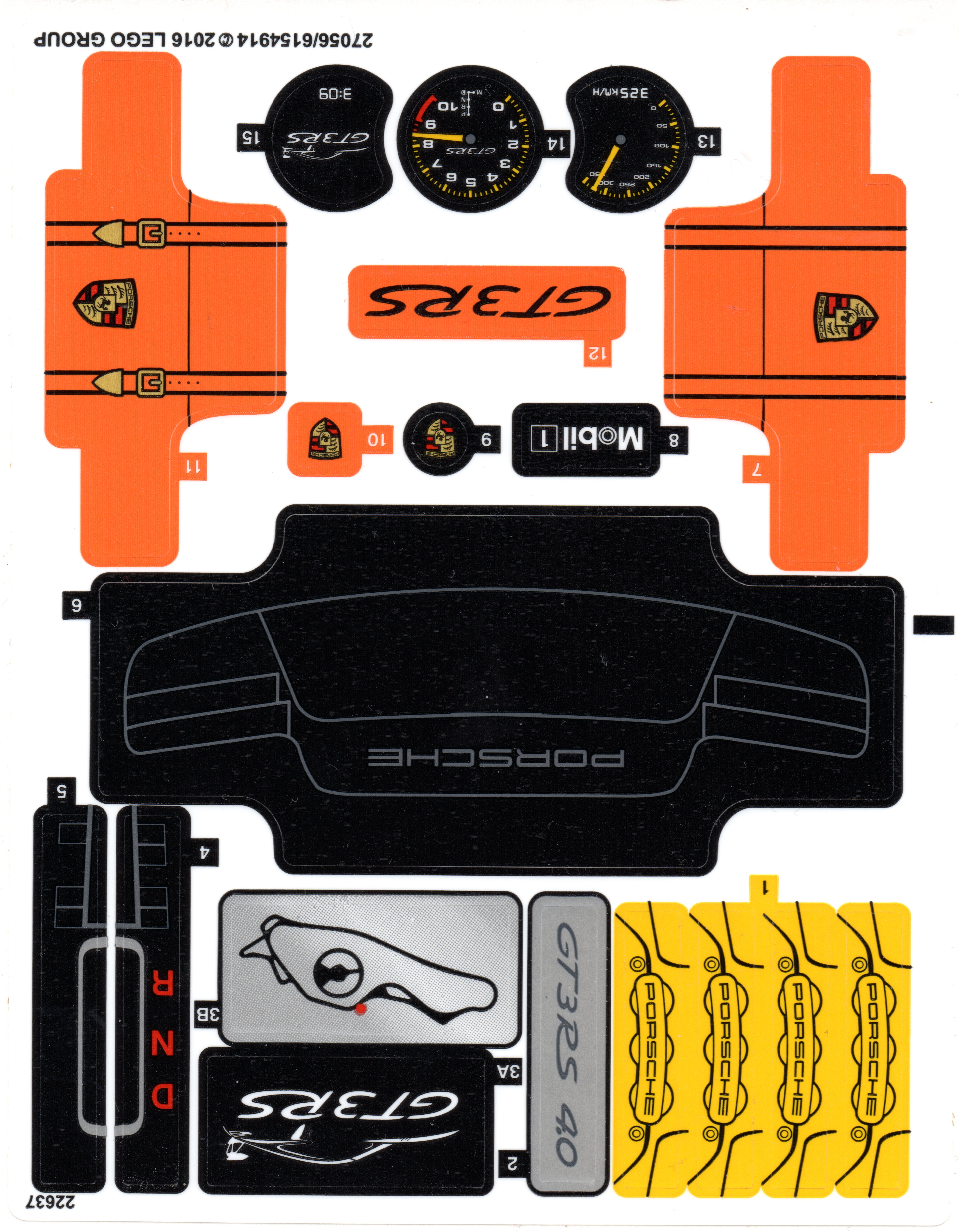 I Am Searching For The Parts Dat From The Porsche Gt3 Rs