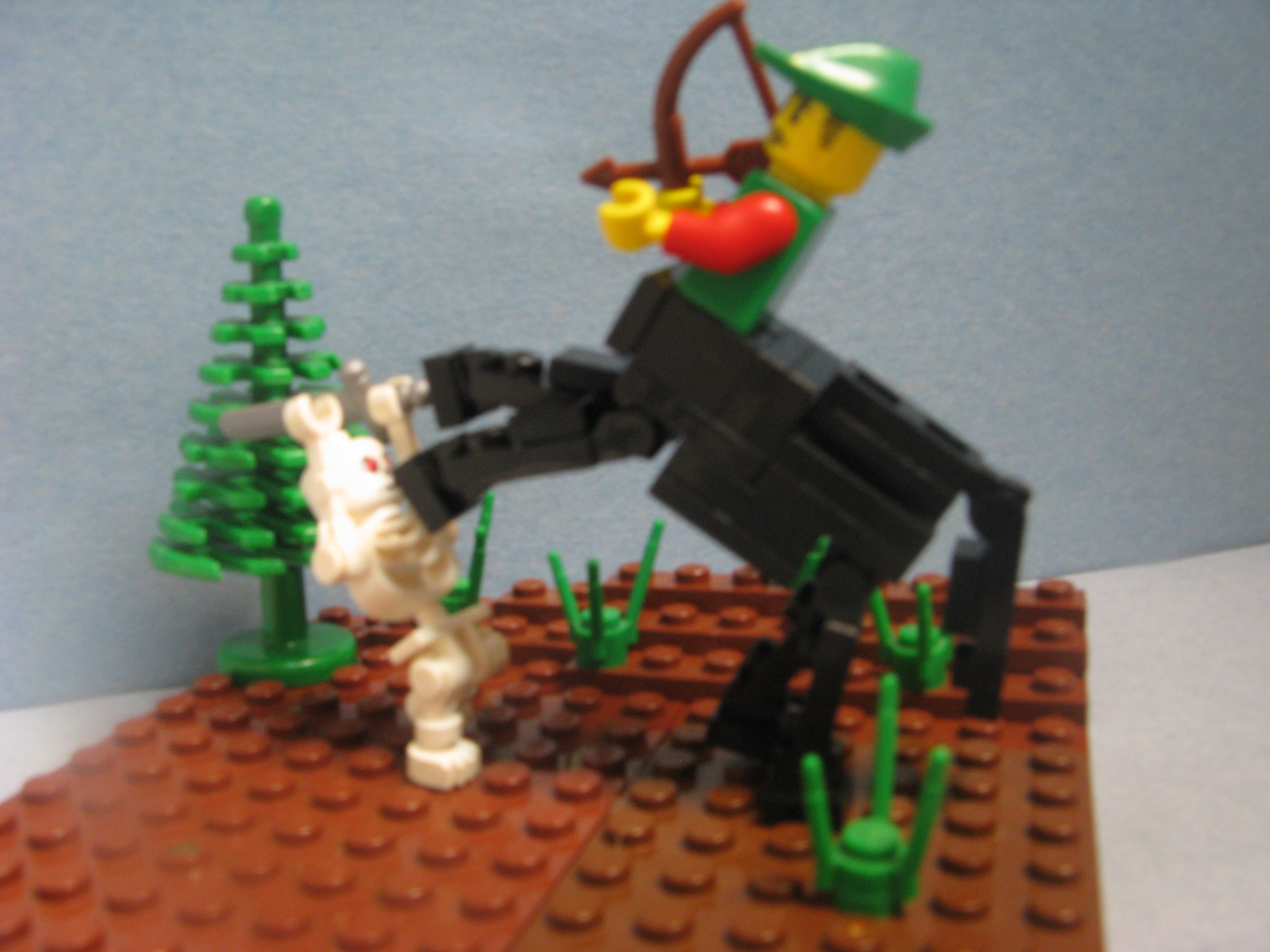 Classic view topic brick built centaur and for Modele maison lego classic