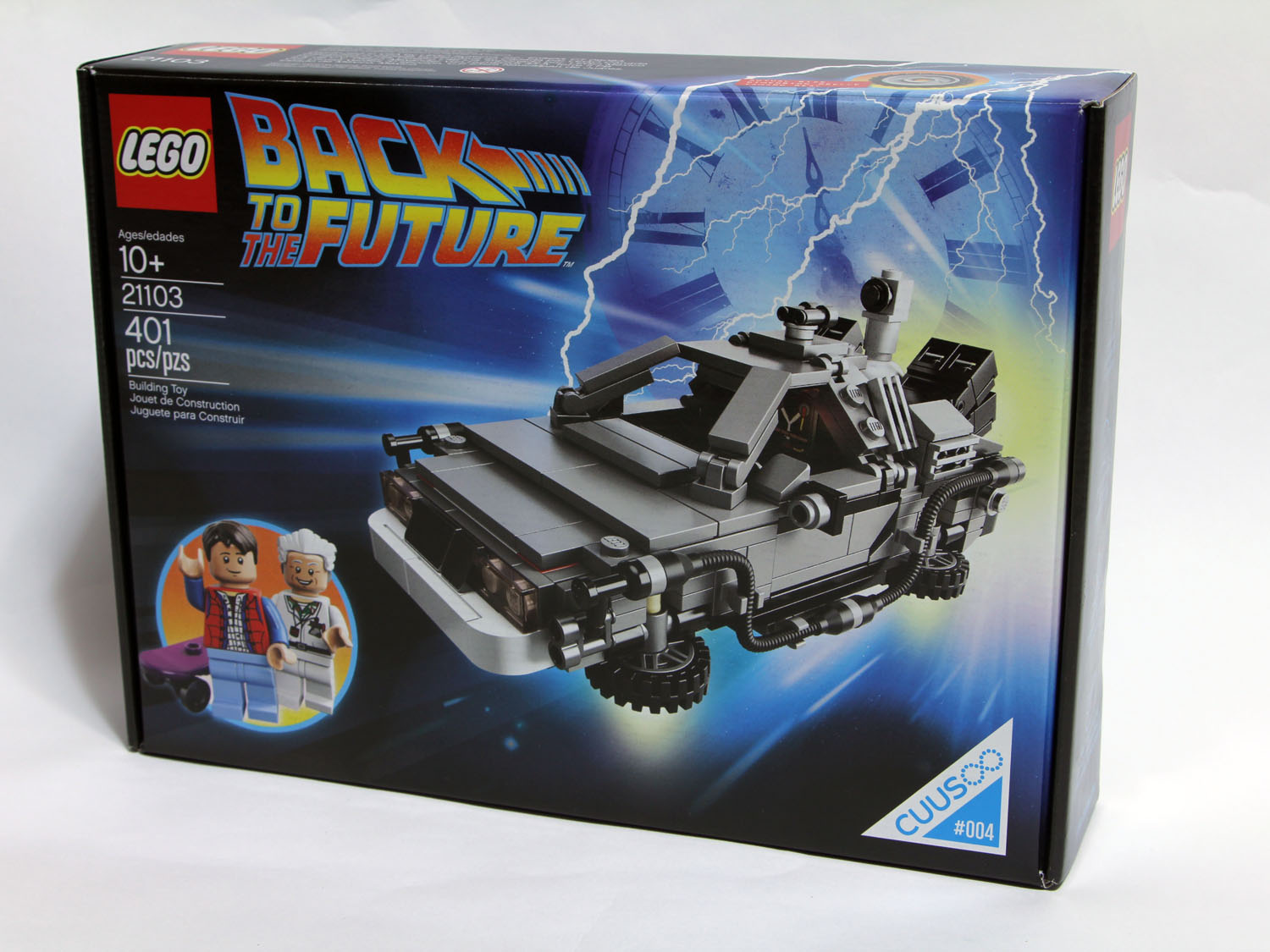 [2013 LEGO]CUUSOO BACK TO THE FUTURE DELOREAN(回到未來)