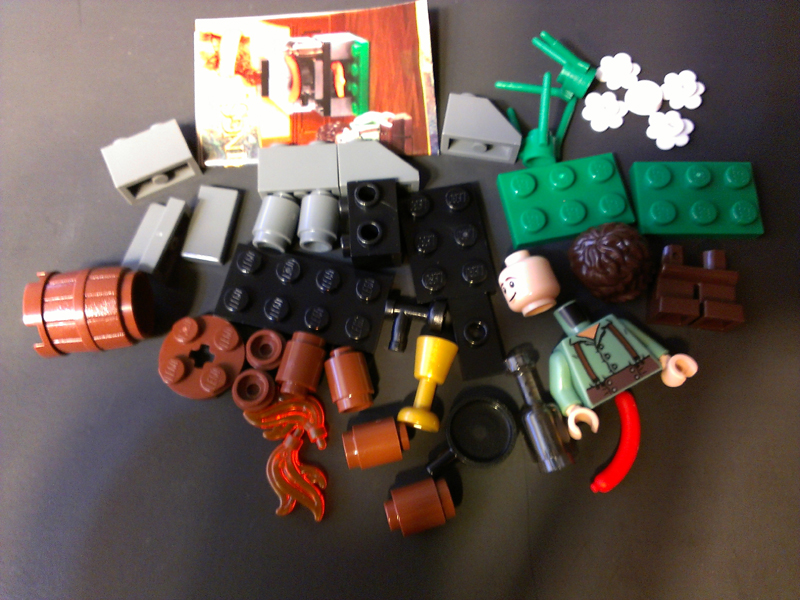 lego bag end instructions