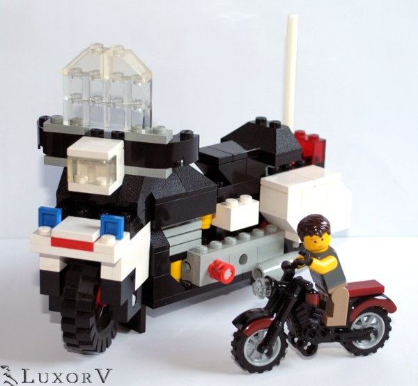 review 394 harley davidson 1000cc special lego themes. Black Bedroom Furniture Sets. Home Design Ideas